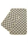 Набір килимків SOLO 40*60+60*90 KREM GRI ZIGZAG