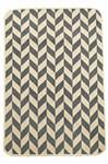 Набір килимків SOLO 40*60+60*90 KREM GRI ZIGZAG - фото 23065
