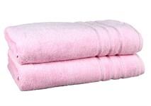Рушник махровий Maisonette Micro Touch 70*140 рожевий 500 г/м2