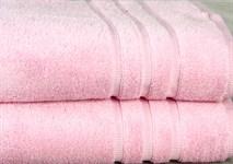 Рушник махровий Maisonette Micro Touch 70*140 рожевий 500 г/м2 - фото 23099