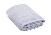 Рушник махровий Maisonette Micro Touch 70*140 блакитно-бузковий 500 г/м2 - фото 23109