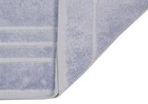 Рушник махровий Maisonette Micro Touch 70*140 блакитно-бузковий 500 г/м2 - фото 23111