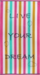 Рушник пляжний Maisonette Dream 70*130 400 г/м2 - фото 23122