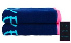 Рушник пляжний Maisonette Dream 70*130 блакитний 400 г/м2