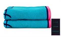 Рушник пляжний Maisonette Dream 70*130 блакитний 400 г/м2 - фото 23125