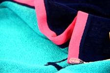 Рушник пляжний Maisonette Dream 70*130 блакитний 400 г/м2 - фото 23126