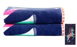 Рушник пляжний Maisonette Unicorn 70*130 400 г/м2 - фото 23132
