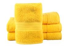 Рушник RAINBOW K.Sari 70х140 жовтий 500г/м2
