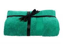 Набір рушник EURO SET Dark Green зелений 70*135 1шт. 500г/м2 - фото 23231