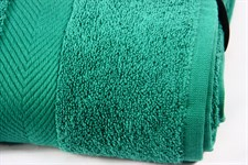 Набір рушник EURO SET Dark Green зелений 70*135 1шт. 500г/м2 - фото 23233