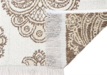 Рушник махровий Maisonette Lora 70*140 бежевий 450 г/м2 - фото 23300