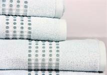 Рушник махровий Maisonette Classy 70*140 св.блакитний 460 г/м2 - фото 23349