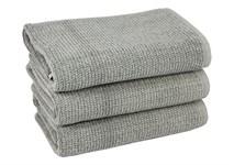 Рушник для ніг Maisonette Marlon 50*80 сірий 1000г/м2 - фото 23401