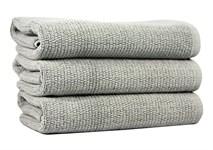 Рушник для ніг Maisonette Marlon 50*80 сірий 1000г/м2 - фото 23402