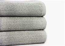 Рушник для ніг Maisonette Marlon 50*80 сірий 1000г/м2 - фото 23404