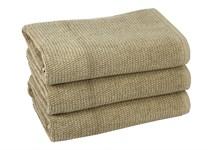 Рушник для ніг Maisonette Marlon 50*80 бежевий 1000г/м2 - фото 23409