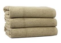 Рушник для ніг Maisonette Marlon 50*80 бежевий 1000г/м2 - фото 23410