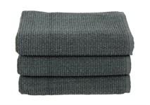 Рушник для ніг Maisonette Marlon 50*80 т.сірий 1000г/м2