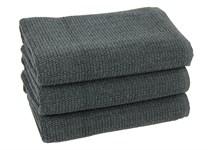 Рушник для ніг Maisonette Marlon 50*80 т.сірий 1000г/м2 - фото 23417