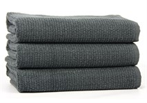 Рушник для ніг Maisonette Marlon 50*80 т.сірий 1000г/м2 - фото 23418