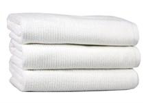 Рушник для ніг Maisonette Marlon 50*80 білий 1000г/м2 - фото 23440