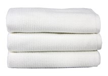 Рушник для ніг Maisonette Marlon 50*80 білий 1000г/м2 - фото 23441
