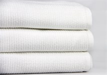 Рушник для ніг Maisonette Marlon 50*80 білий 1000г/м2 - фото 23442