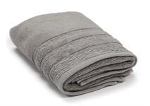 Рушник махровий Maisonette Hydropile 50*100 сірий 450 г/м2 - фото 23599