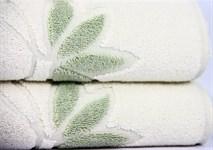 Рушник махровий Maisonette Solvron 50*90 зелений 550 г/м2 - фото 23638