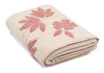 Рушник махровий Maisonette Solvron 50*90 рожевий 550 г/м2