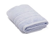 Рушник махровий Maisonette Micro Touch 50*100 блакитно-бузковий 500 г/м2 - фото 23710