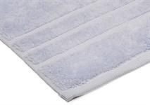 Рушник махровий Maisonette Micro Touch 50*100 блакитно-бузковий 500 г/м2 - фото 23713