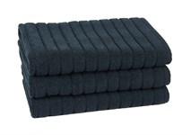 Рушник для ніг Maisonette Rainbow 60*60 чорний 850г/м2