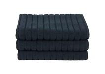 Рушник для ніг Maisonette Rainbow 60*60 чорний 850г/м2 - фото 23807