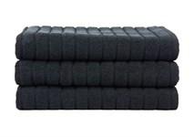 Рушник для ніг Maisonette Rainbow 60*60 чорний 850г/м2 - фото 23808