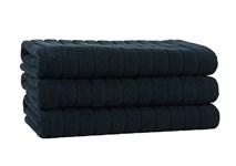 Рушник для ніг Maisonette Rainbow 60*60 чорний 850г/м2 - фото 23809