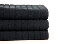 Рушник для ніг Maisonette Rainbow 60*60 чорний 850г/м2 - фото 23810