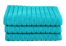 Рушник для ніг Maisonette Rainbow 60*60 бірюзовий 850г/м2