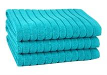 Рушник для ніг Maisonette Rainbow 60*60 бірюзовий 850г/м2 - фото 23812