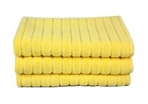 Рушник для ніг Maisonette Rainbow 60*60 жовтий 850г/м2