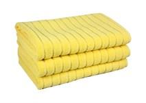 Рушник для ніг Maisonette Rainbow 60*60 жовтий 850г/м2 - фото 23816