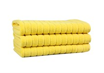 Рушник для ніг Maisonette Rainbow 60*60 жовтий 850г/м2 - фото 23818