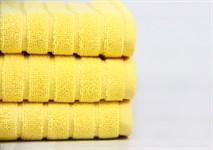 Рушник для ніг Maisonette Rainbow 60*60 жовтий 850г/м2 - фото 23819