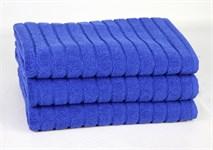 Рушник для ніг Maisonette Rainbow 60*60 синій 850г/м2