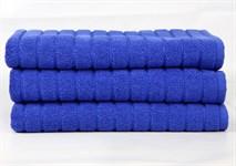 Рушник для ніг Maisonette Rainbow 60*60 синій 850г/м2 - фото 23822