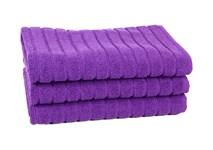 Рушник для ніг Maisonette Rainbow 60*60 фіолетовий 850г/м2 - фото 23825