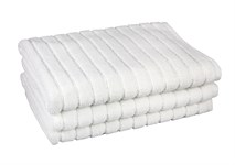 Рушник для ніг Maisonette Rainbow 60*60 білий 850г/м2