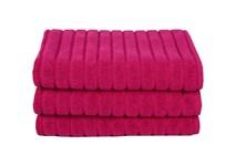 Рушник для ніг Maisonette Rainbow 60*60 фуксія 850г/м2