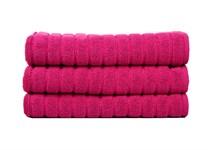 Рушник для ніг Maisonette Rainbow 60*60 фуксія 850г/м2 - фото 23836