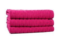 Рушник для ніг Maisonette Rainbow 60*60 фуксія 850г/м2 - фото 23837
